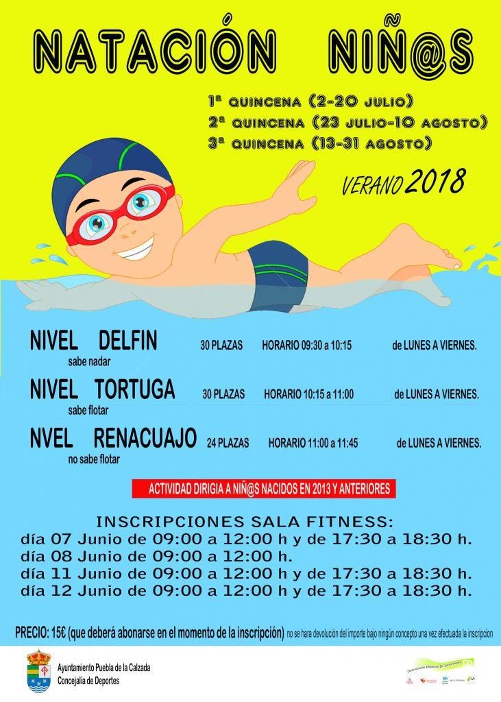 natacion niños2018