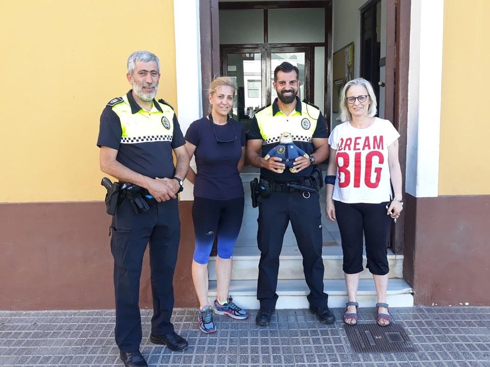 fp campaña Policía Local para combatir el Cáncer Infantil