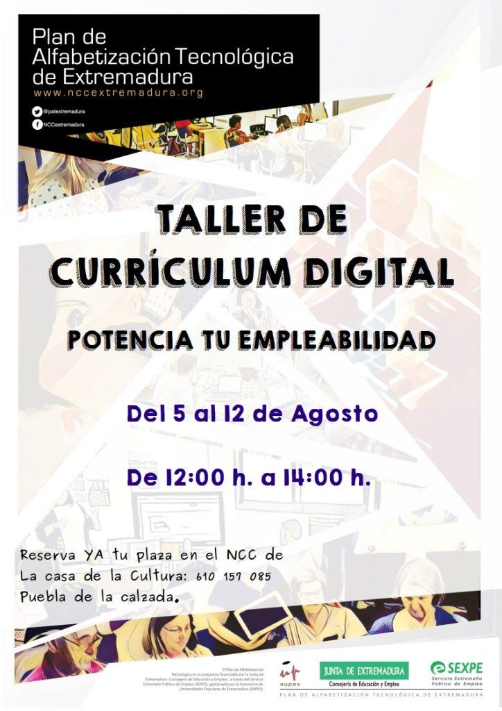 taller de currículum digital