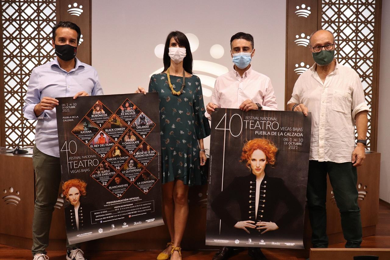 PRESENTADO EL 40 FESTIVAL NACIONAL DE TEATRO VEGAS BAJAS